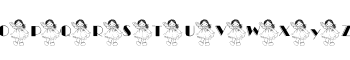 101! Ashleigh's Dolly Font UPPERCASE