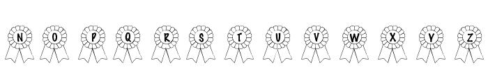 101! Awards Won Font UPPERCASE