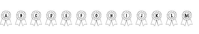 101! Awards Won Font LOWERCASE