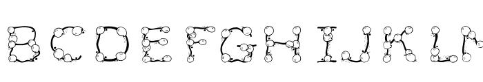 101! BalloonZ Font UPPERCASE