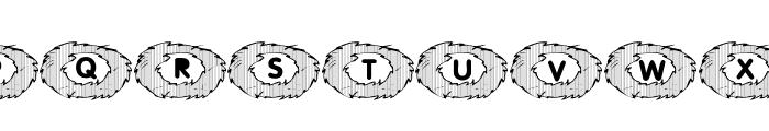 101! Birds Nest Font UPPERCASE