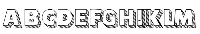 101! Block LetterZ Font UPPERCASE