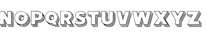 101! Block LetterZ Font LOWERCASE