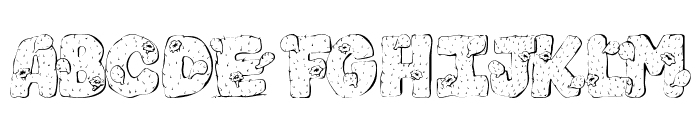 101! Cacti Font UPPERCASE