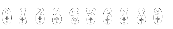 101! Celtic Knot Deco Font OTHER CHARS