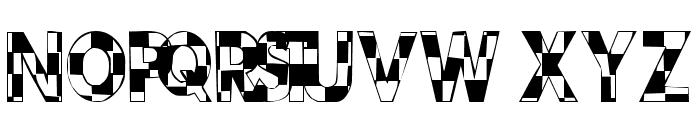 101! CheckBoard Font UPPERCASE