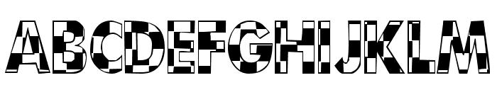 101! CheckBoard Font LOWERCASE