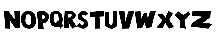 101! Chunky Alpha Font LOWERCASE