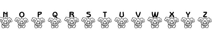 101! ClownZ Beanie Font UPPERCASE