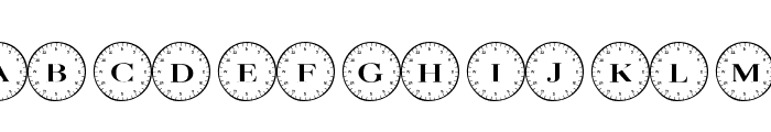 101! Compass Font UPPERCASE