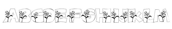 101! DaffYDilZ Font LOWERCASE