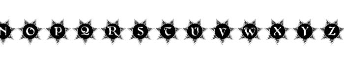 101! Decorative Sun Font LOWERCASE