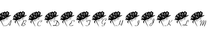 101! Mardi Mask Font UPPERCASE