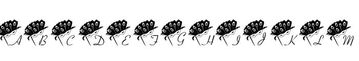 101! Mardi Mask Font LOWERCASE