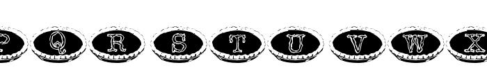 101 Punkin Pie Font UPPERCASE