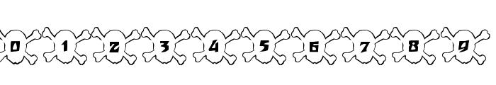 101! Skull &BoneZ Font OTHER CHARS