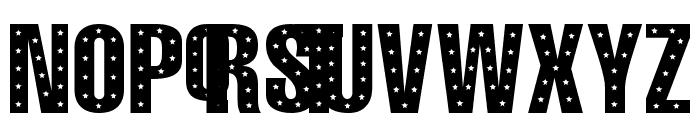 101! StaR StuDDeD Font UPPERCASE