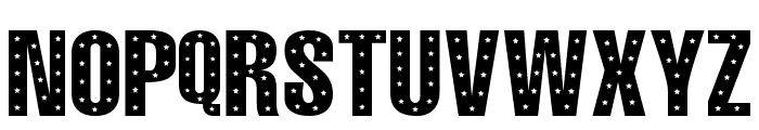 101! StaR StuDDeD Font LOWERCASE