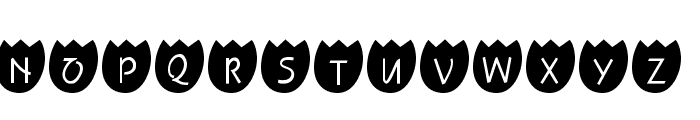 101! TulipZ Font LOWERCASE