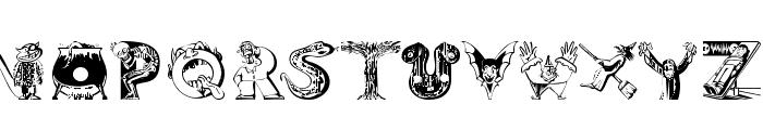 101 Ween Font UPPERCASE
