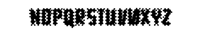 10pt Chaos Font UPPERCASE