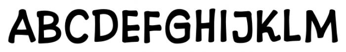 10 Cent Comics Regular Font LOWERCASE