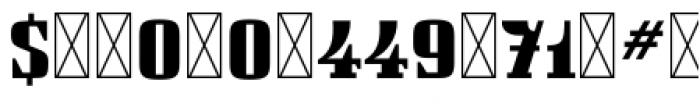 112 Hours Parker Font OTHER CHARS