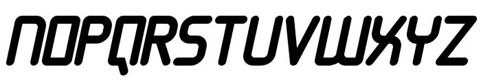 11S01 Black Tuesday Italic Font UPPERCASE