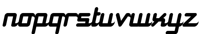 11S01 Black Tuesday Italic Font LOWERCASE