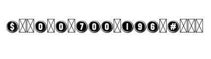112 Hours Keystroke Font OTHER CHARS
