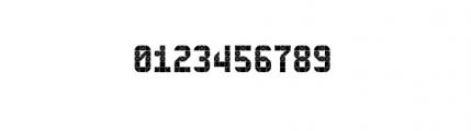 112 Hours Metropolitan Font OTHER CHARS