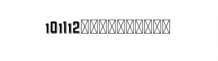 112 Hours Sudbury Font UPPERCASE
