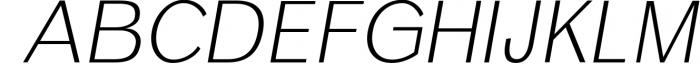 12 fonts in one bundle 21 Font UPPERCASE