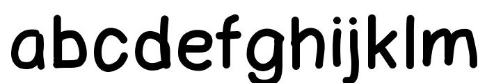 123Marker Font LOWERCASE