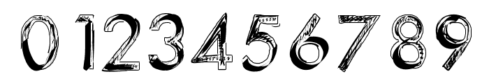 123Sketch Font OTHER CHARS