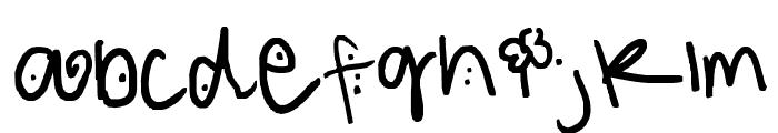 123 Font LOWERCASE