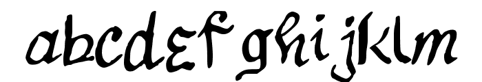 12Stepsalternate Font LOWERCASE