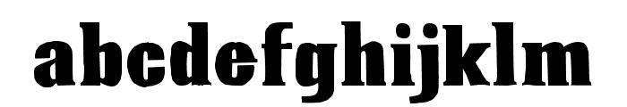 12s. 6d. net Font LOWERCASE