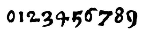 1350 Primitive Russian Regular Font OTHER CHARS
