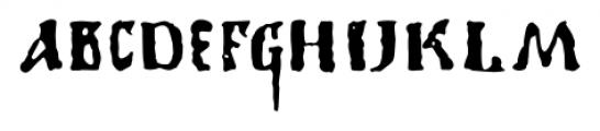 1350 Primitive Russian Regular Font LOWERCASE