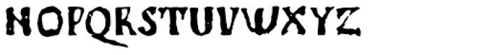 1350 Primitive Russian Font LOWERCASE