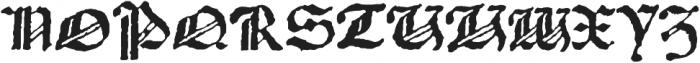 1483 Rotunda Lyon otf (400) Font UPPERCASE