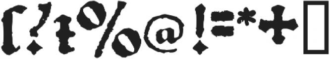 1492_Quadrata otf (400) Font OTHER CHARS