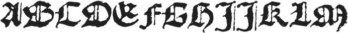 1492_Quadrata otf (400) Font UPPERCASE