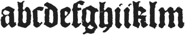 1492_Quadrata otf (400) Font LOWERCASE