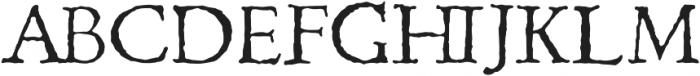 1499 Alde Manuce Pro otf (400) Font UPPERCASE