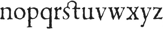 1499 Alde Manuce Pro otf (400) Font LOWERCASE