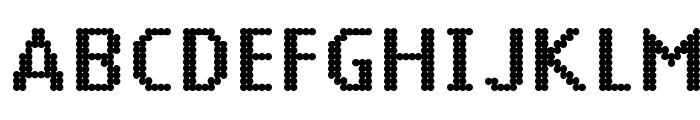 14 LED Phattt Heavy Font UPPERCASE