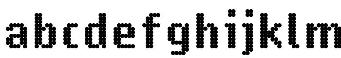 14 LED Phattt Heavy Font LOWERCASE