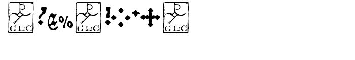 1479 Caxton Normal Font OTHER CHARS